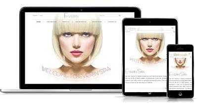 Responsive web design spa #00036